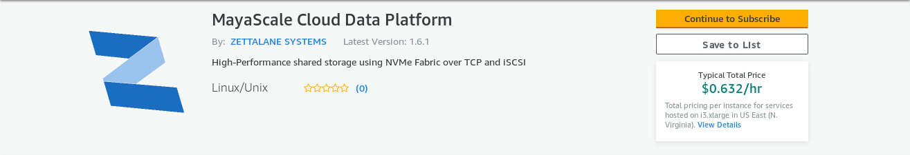 Download free trial software for Cloud NAS, NVMe Fabric, VTL
